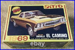 51 year old AMT 1969 SS396 El Camino 3in1 customizing kit- MINT MINT unbuilt