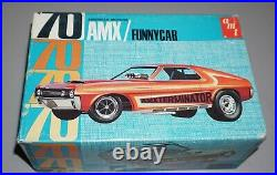 70 American Motors AMX Funny Car 1/25 AMT Complete & Unstarted