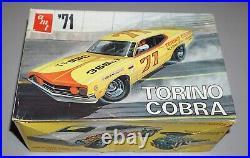 71 Ford Torino Cobra Vintage AMT 1/25 Complete & Unstarted