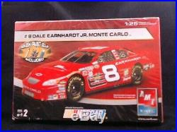 #8 Dale Earnhardt Jr. Monte Carlo Model Kit AMT 125 Scale NewithSealed