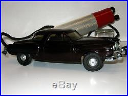 ALUMINUM MODEL TOYS AMT STUDEBAKER REMOTE CONTROL PROMOTIONAL MODEL CAR 1950