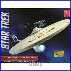 AMT1080 1/537 Star Trek USS Enterprise Refit