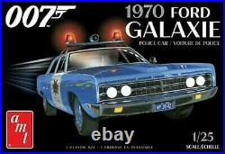 AMT1172 125 James Bond 1970 Ford Galaxie Police Car