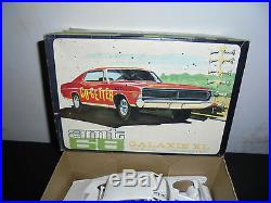 AMT68 Ford Galaxie XL Model Kit 1/25 Scale Incomplete