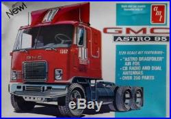 AMT 125 GMC Astro 95 Cabover Truck Tractor Plastic Model Kit #T510U