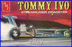 AMT 125 Tommy Ivo Streamliner Dragster Plastic Model Kit #T399U