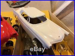 AMT 1953 Three Car Buick Cadillac Lincoln Promo Car Kits 125 Original Box Great