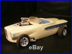 AMT 1958 EDSEL SHOW ROD BUBBLETOP or DUVALL MY COLLECTION ALL STYRENE-junkyard