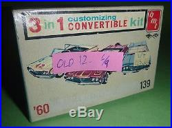 AMT 1960 EDSEL CONVERTIBLE VINTAGE MODEL CAR MOUNTAIN KIT 1/25 #22260