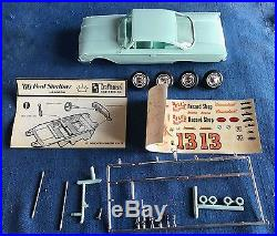 AMT 1960 Ford Galaxie Starliner Hardtop Vintage Screw Chassis Model Kit Promo
