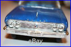 AMT 1961 Buick Electra Annual Issue Model Car Nicely Built 1/25 Scale Kit