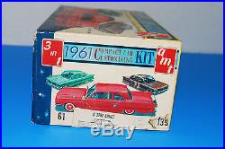 AMT 1961 Compact Car Customizing Model Kit 3 in 1 # 139 125 Scale in Box SM 50F