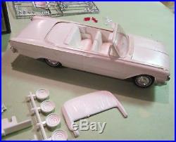 AMT 1961 Ford Convertible Stock Built in'67 Nascar Art Box Kit #2461