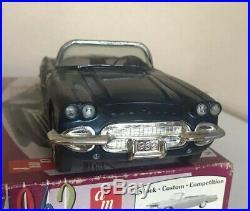 AMT 1962 CORVETTE Convertible Dealer Promo Friction Annual Screw Bottom