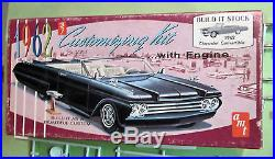 AMT 1962 Chevrolet Impala Convertible Annual 3-in-1 Kit # K712 Chevy in Box 62