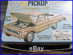 AMT 1962 Ford Pickup Plastic Model Kit, mint, unbuilt