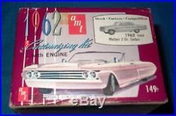 AMT 1962 Mercury Meteor 2 Door Sedan 3in1 Annual Kit #K362-Model Car Swap Meet
