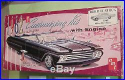 AMT 1962 Mercury Meteor Sedan 3-in-1 Annual Kit #K362 Unbuilt in Box 62