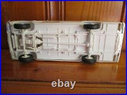 AMT 1963 Ford F-100 Pickup Built Mostly Unpainted Model Car Kit Super Nice