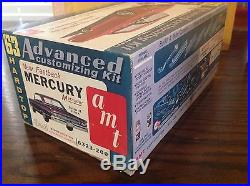 AMT 1963 MERCURY MARAUDER FASTBACK 3 In 1 CUSTOMIZING. RARE! 1/25TH