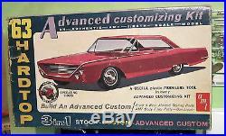 AMT 1963 Mercury Marauder Fastback HT 3-in-1 Annual Kit in Box 63