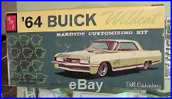 AMT 1964 Buick Wildcat Hardtop 3-in-1 Annual Kit #6524 Unbuilt in Box 64