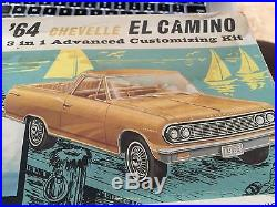 AMT 1964 CHEVELLE EL CAMINO 3 in 1 Advanced Customizing Model Kit