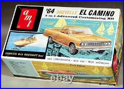 AMT 1964 Chevelle El Camino with Westcraft Boat, 3 in 1, Stock or Custom