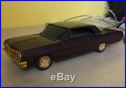 AMT 1964 Chevrolet Impala SS Model Car Kit Lowrider Hydraulics Hydros 1/25 Scale