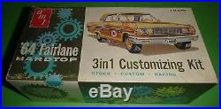 AMT 1964 FORD FAIRLANE HARDTOP 5164 ANNUAL Model Car Mountain 1966 VINTAGE