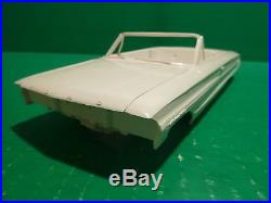 AMT 1964 FORD GALAXIE CONVERTIBLE 1/25 MODEL CAR MOUNTAIN KIT 6114 3n1 VINTAGE