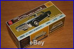 AMT 1964 LINCOLN CONTINENTAL HT NICE! 1/25TH NOS