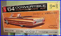 AMT 1964 Mercury Park Lane Convertible 3-in-1 Annual Kit #6314 Unbuilt in Box 64