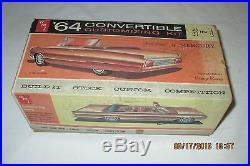 AMT 1964 Mercury Park Lane Convertible 3-in-1 Customizg Kit #6314 Unbuilt