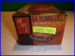 AMT 1964 PONTIAC BONNEVILLE HARDTOP #6624 ANNUAL 1/25 MODEL Car Mountain J328/24