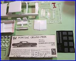 AMT 1964 Pontiac Grand Prix 3-in-1 Annual Kit #6554 Unbuilt in Box 64