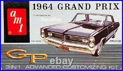 AMT 1964 Pontiac Grand Prix, 3 in 1, Stock, Racing or Dean Jeffries Custom