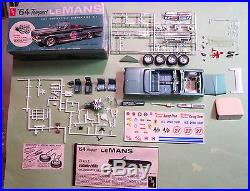 AMT 1964 Pontiac Tempest Lemans Convertible 3-in-1 Kit in Box & Barris Autograph