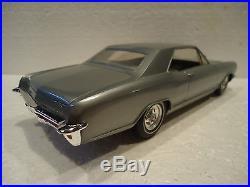 AMT 1965 Buick Riviera 2dr ht Plastic Dealer Promo Model Car MINT PERFECT