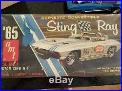 AMT 1965 Corvette Convertible Stingray Roadster 3-in-1 6915-150