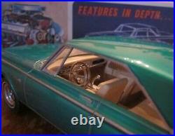 AMT 1965 Dodge Coronet Hemi 3-in-1 Annual Kit # 6025 Nice Built in Box Orig 65