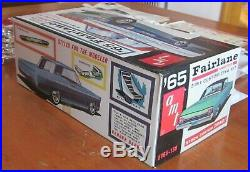 AMT 1965 Ford Fairlane Hardtop Stock Custom Drag Annual Kit # 5166 Vintage 65