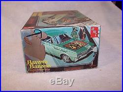 AMT 1965 Oldsmobile 88 Dynamic Havana Banana Unbuilt Model Kit! Sealed bags