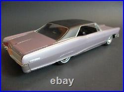 AMT 1965 Pontiac Grand Prix Pro Built Model Car Kit Gorgeous Iris Mist