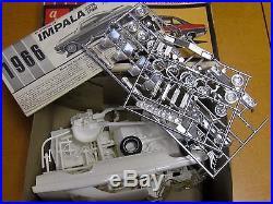 Amt 1966 Chevrolet Impala Ss 2 Dr. H. T. Original Issue Model Kit #6726-200