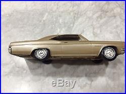 AMT 1966 Chevrolet Impala SS Hardtop Promo-Sandlewood Tan Met, Near Mint