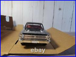 AMT 1966 Ford Fairlane GT/A Promo 125 Scale Plastic Dealer Model'66 Car Black