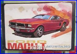 AMT 1966 Ford Mustang Mach I 1 Annual Show Car Kit #2148 Unbuilt in Box 68