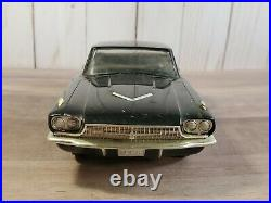 AMT 1966 Ford Thunderbird Philco Radio Promo 125 Scale Plastic Black Model Car