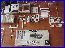 AMT 1966 Mercury Comet Cyclone GT Stock Custom Drag Annual Kit # 6356 in Box 66